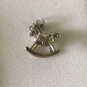 Jewelry - Sterling Silver Rocking Horse Charm